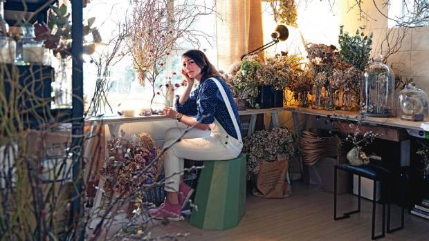 Antonia de Vere of Markatonia in her Kingsland studio space.