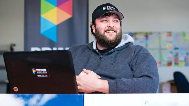 Primo Wireless creator Matt Harrison has watched his business grow since he first launched it in 2006.