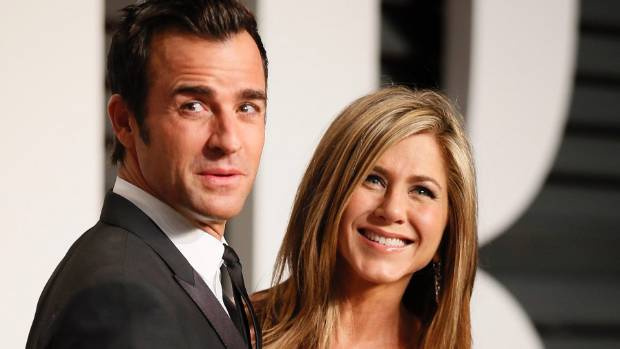 Justin Theroux and Jennifer Aniston were married last August.