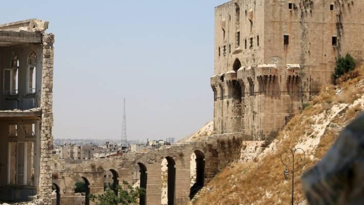 A Virtual Tour Through Ruined Syrian City Aleppo Stuff Co Nz