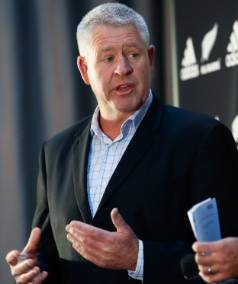 New Zealand Rugby chief executive Steve Tew is confident an All Blacks tourist attraction on Auckland's waterfront will ...