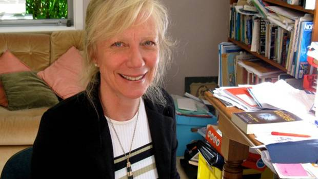 Mandy Hager,  winner of the Margaret Mahy Book of the Year in the 2015 New Zealand Book Awards for Children and Young Adults