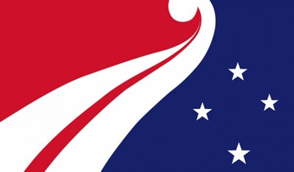 One of the 40 finalist flag designs.