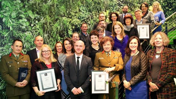 Winners from last year's YWCA Equal Pay Awards, which recognises businesses that have gone above and beyond to address ...