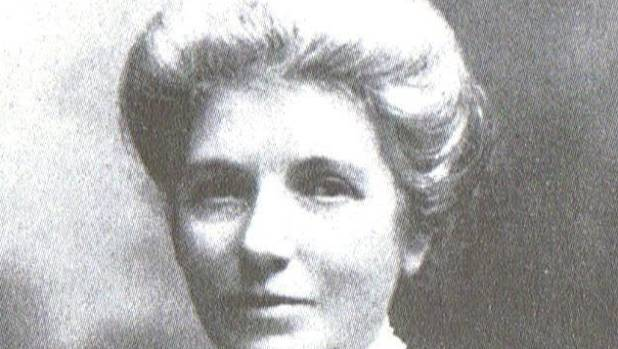 Kate Sheppard's 'do' is among the hair styles available at Political Cutz.