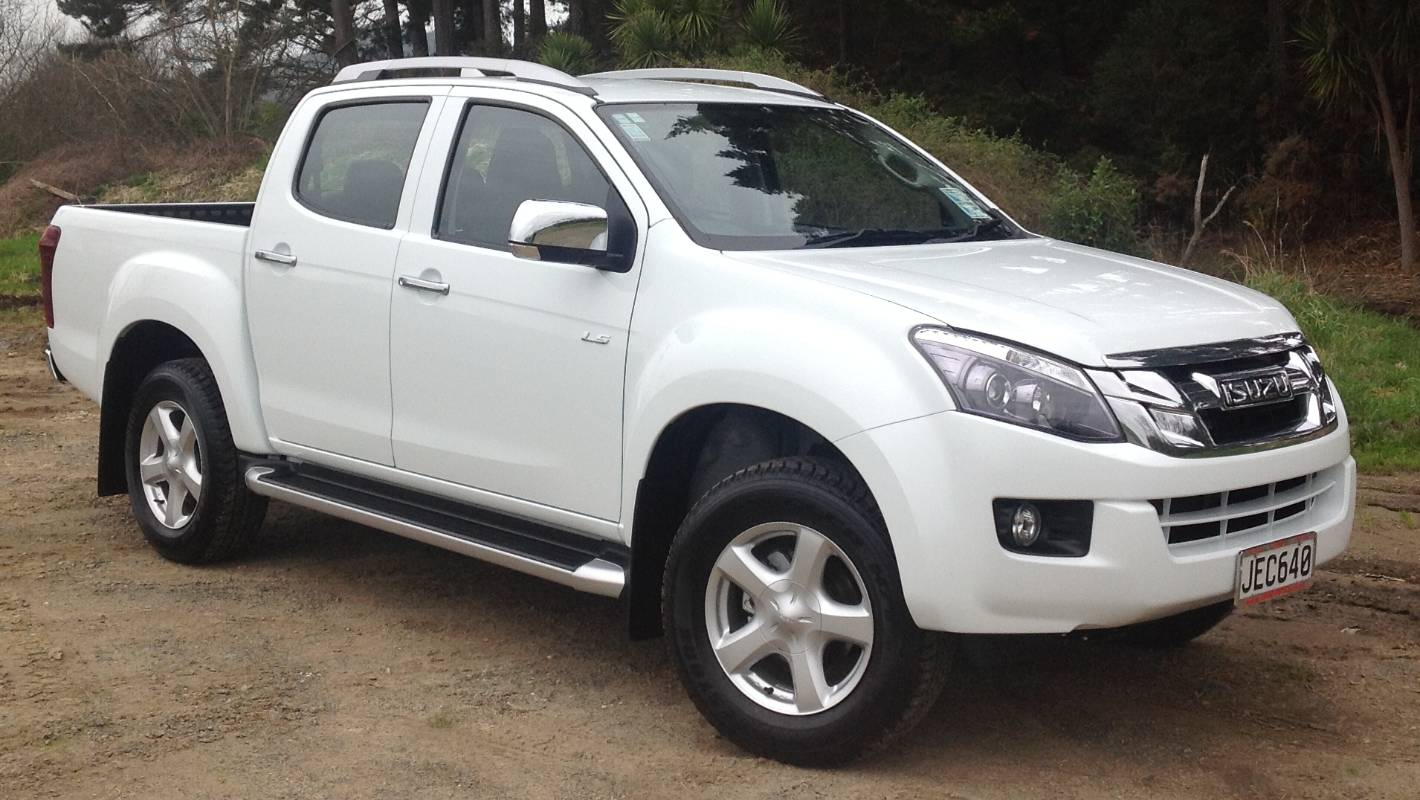 From Japan Out Of Thailand And This Isuzu D Max Ute Is