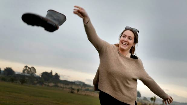 Born and bred Waimate woman Mairead Fox, who now lives in Dunedin, is going to compete at the World Gumboot Throwing ...