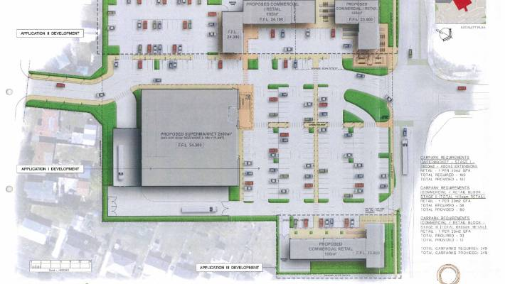 Countdown supermarket proposal tests planning rules for Grocery store design layout planning services
