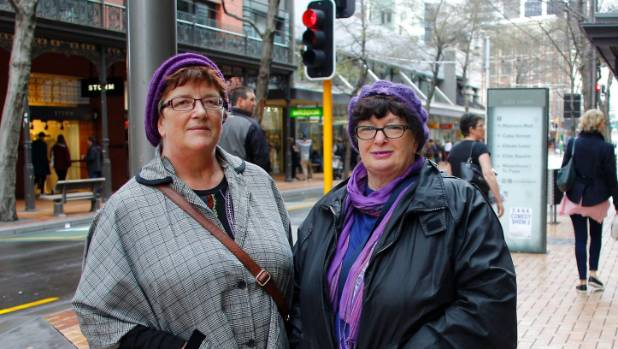 Wellington nurses Erin Kennedy and Ann Simmons strongly believe in equal pay for work of equal value.