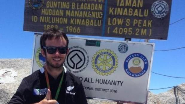 Jordan Bryan in Malaysia.
