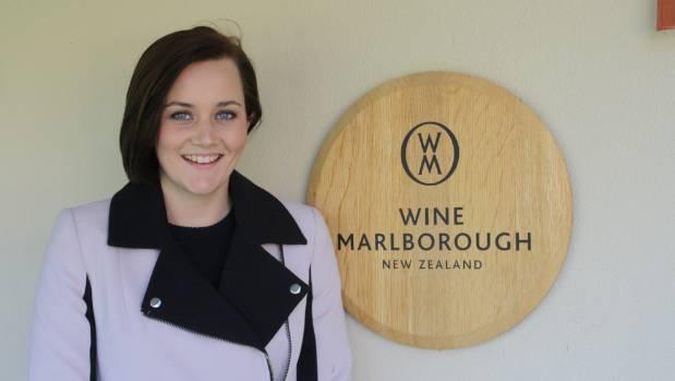 New Wine Marlborough communications and marketing co-ordinator Harriet Wadworth.