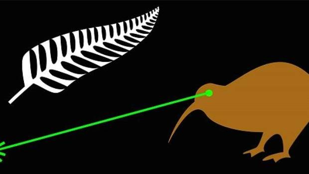 Fire the Lazar by James Gray of Auckland, also known as Laser Kiwi, found a following.