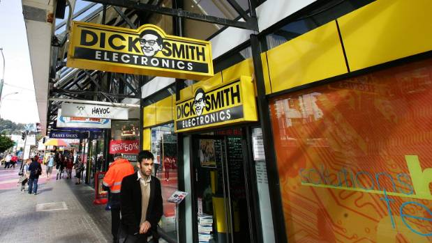 Dick Smith has reported a decline in profit in its New Zealand business.