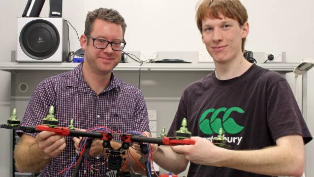 Howick brothers Mat Rowe and Seamus Rowe became 2015 C-Prize finalists with their drone silencing idea.