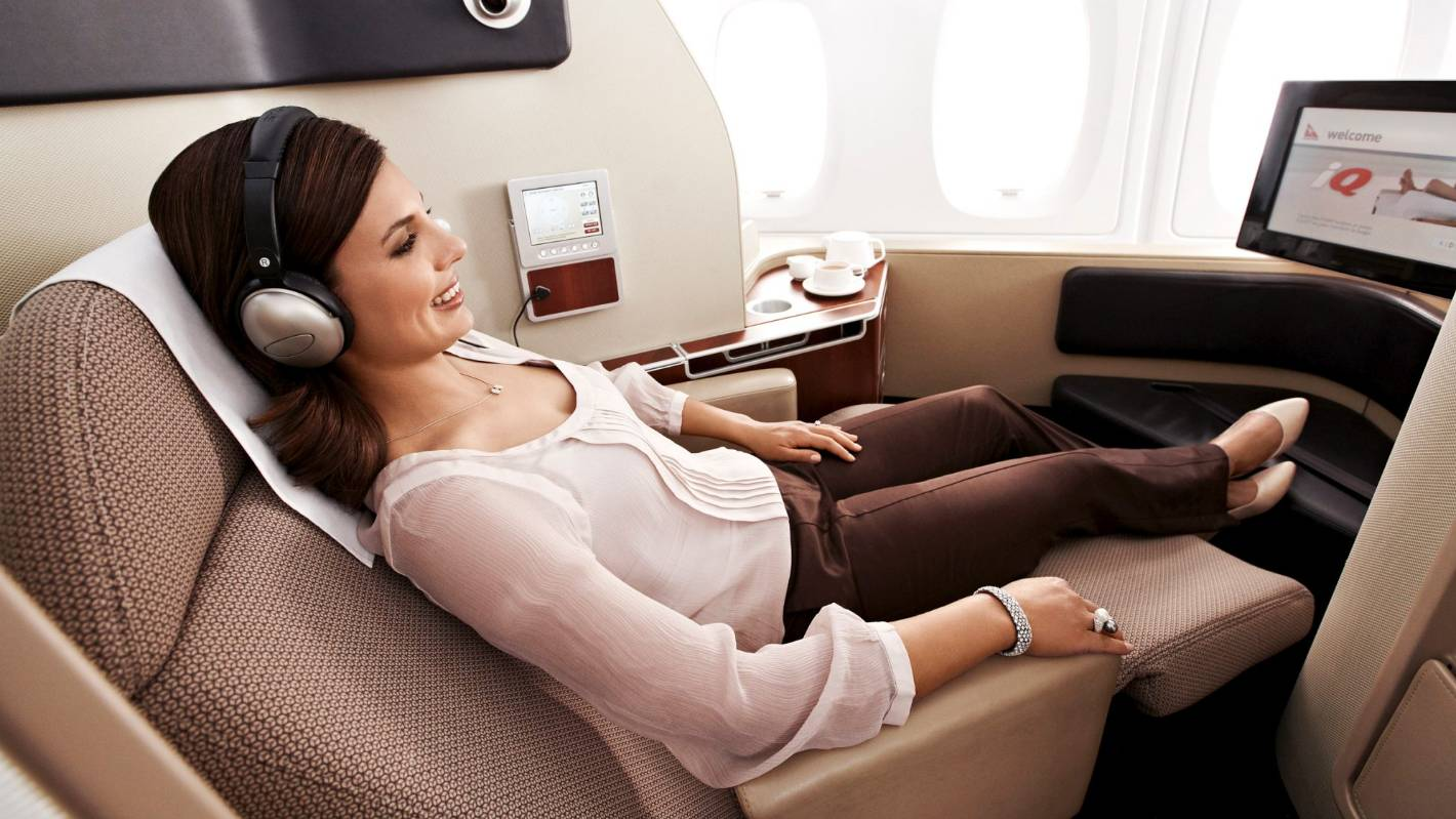 12 ways to score a free first-class upgrade on flights