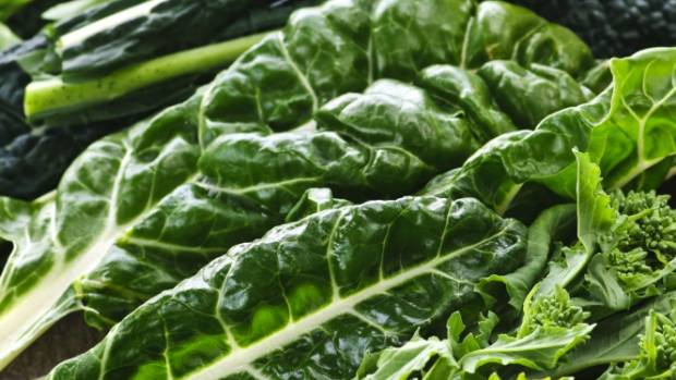 Green leafy vegetables are a great source of magnesium.