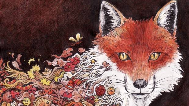 A Fox From Animorphia Coloured By Kat Bifield
