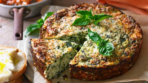 how to make ricotta and spinach cakes