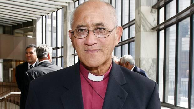 Bishop Muru Walters said the Maori Anglican Church was against changing the flag.