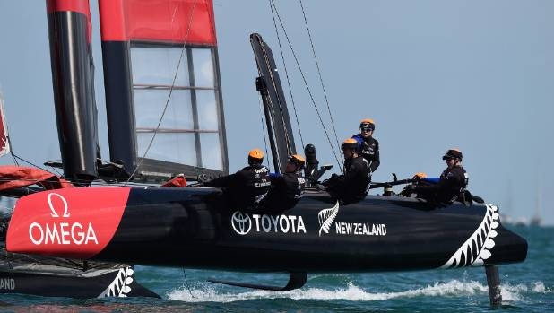 America's Cup world series leaders Tam New Zealand hope a research and development grant will help keep them at the head ...