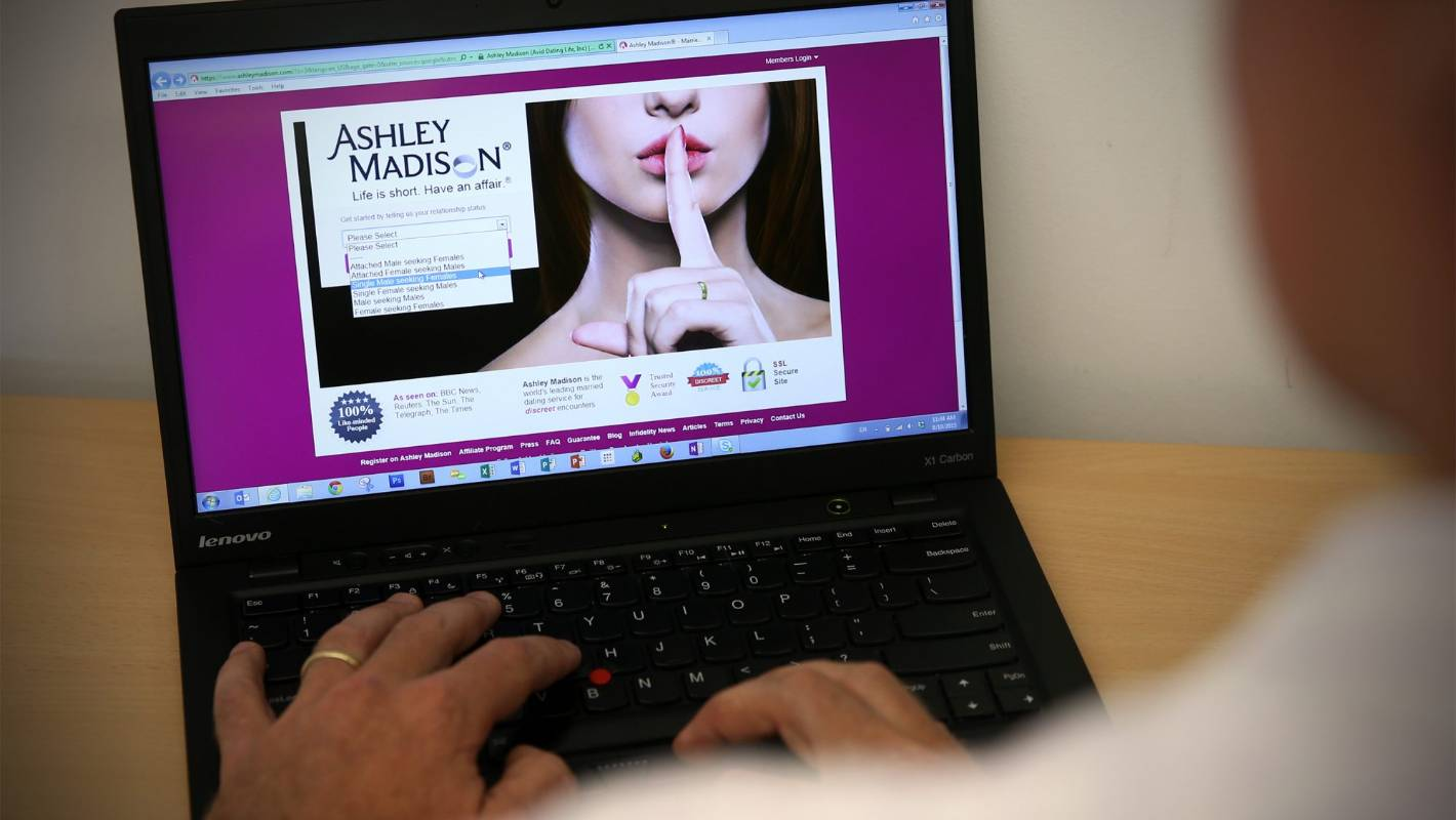 Ashley madison password