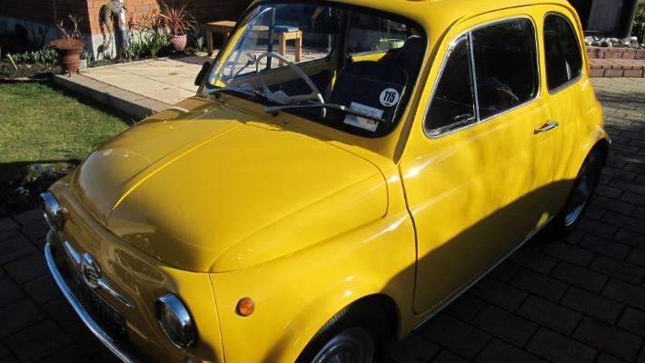 Tony Schischkas 1968 Fiat Bambina