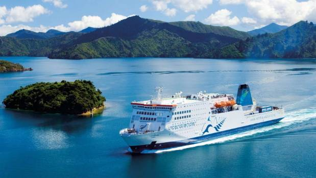 The Kaitaki has proved itself on what can be a challenging route. (File photo)