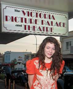 Before she was 'Lorde', then 12, Ella Yelich-O'Connor performed at The Vic's re-opening gala.