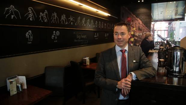 CQ Hotels Wellington general manager Olivier Lacoua says business has been thriving since it introduced New Zealand sign ...