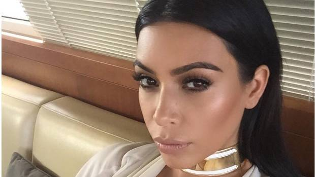 Kim K the selfie queen takes it to the next level