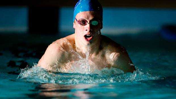 New Plymouth's Eliot Lundon-Moore has two international swimming competitions in his sights.