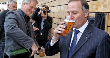 John Key worked hard to be seen as a guy you'd have a beer with.