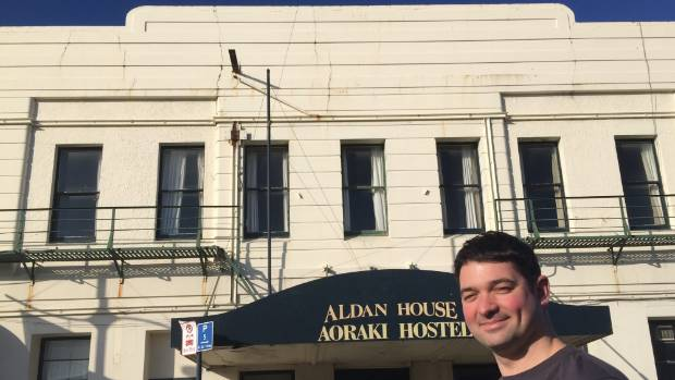 Kerry Beveridge plans to renovate Aldan House, formerly known as the City Hotel.
