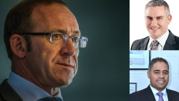 Andrew Little, Kelvin Davis and Peeni Henare -  the Labour leader had to discipline the two Maori electorate MPs after ...