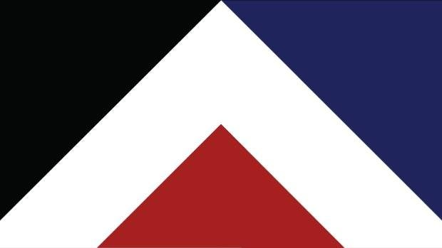 Red Peak by Aaron Dustin was one of the 40 designs selected on the flag consideration panel's long list.