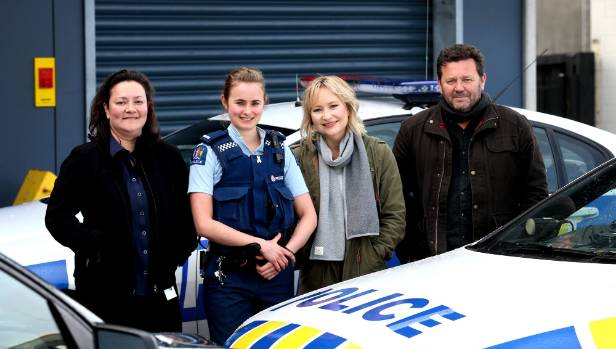 Season two of The Brokenwood Mysteries will be coming to Prime this month and the two leading stars came to New Plymouth ...