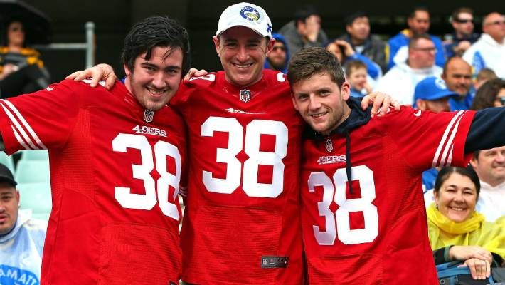 49ers number 38 jersey