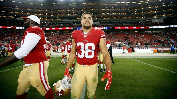 promo code 52cae 66beb NFL fans suiting up for the 'Hayne plane' as 49ers No 38 ...