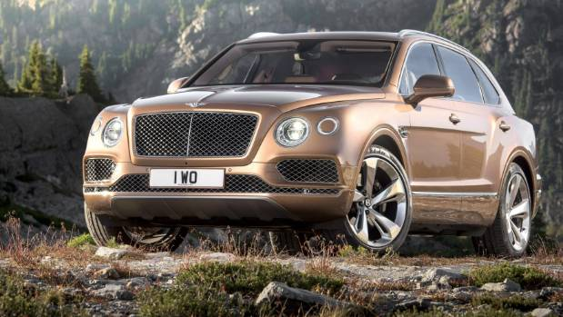 Bentley's uber luxurious SUV, the Bentayga.