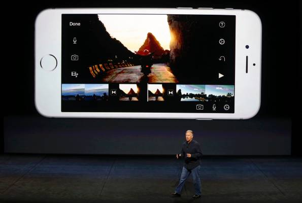 Phil Schiller speaks about the 4K video capability for the new iPhone 6s and iPhone 6s Plus.