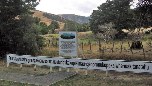 The World S Longest Place Name In Hawke Bay