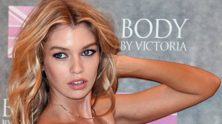 Former University of Otago student Stella Maxwell launching Victoria s  Secret new Body by Victoria collection in 4924e7caac