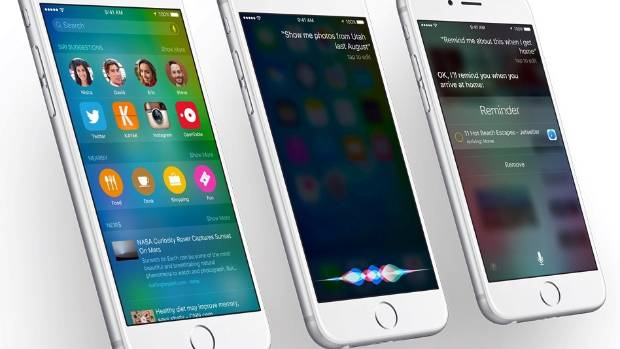 iOS9 is now available to download.