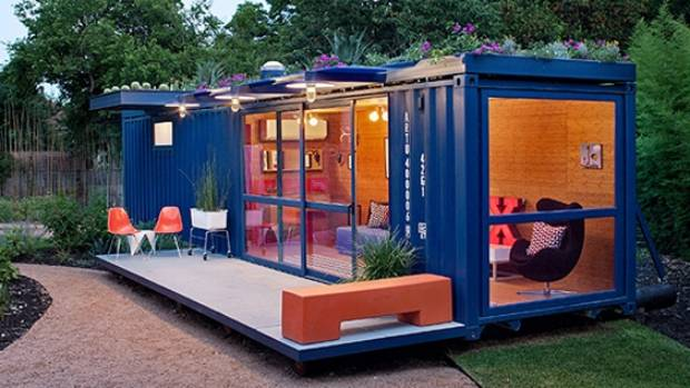 Don t believe the hype about building with shipping for Extension container