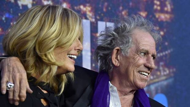 Keith Richards has been married to former U.S. model Patti Hansen for 31 years.