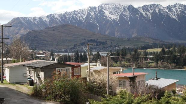 Old holiday cabins in central Queenstown are among the cheaper options for tenants struggling to find accommodation. ...