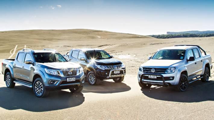 NZ ute wars: Nissan Navara v Mitsubishi Triton v VW Amarok