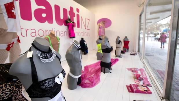 Since opening in new premises on Devon St West, in New Plymouth, Nauti NZ adult store has received complaints about its ...