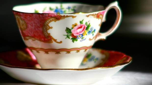 High tea starts with good china and leaf tea.