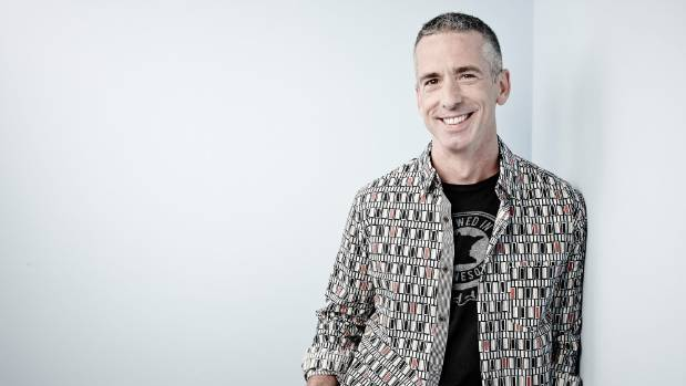 "Sex columnist Dan Savage: ""Sex is a powerful ocean that we bob on... Our heads are above water, but there is no shore."""